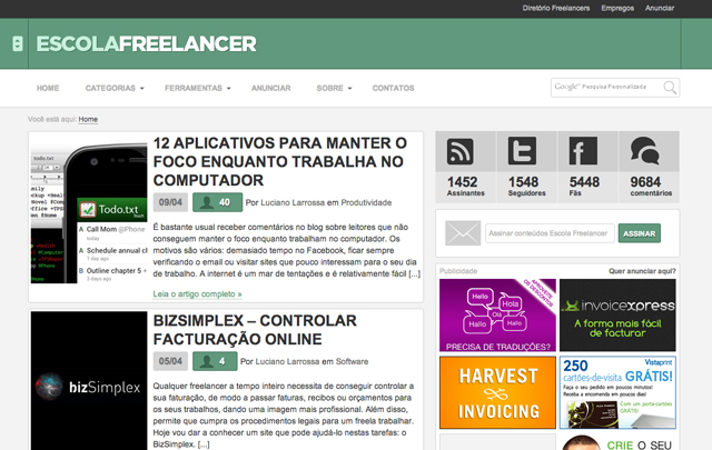 nova escola freelancer