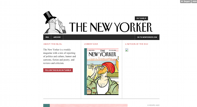 The New Yorker no Tumblr