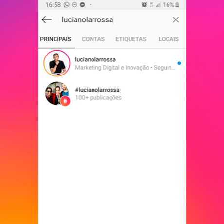 Como ser encontrado nas buscas do Instagram